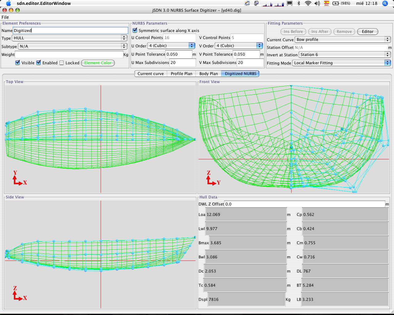 Yacht design progettazione nautica jsdn software per for Programmi per designer